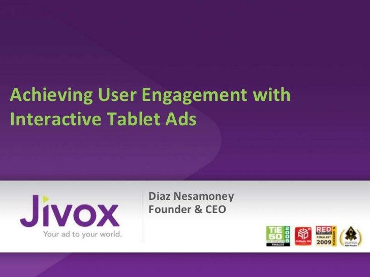 1600 tablet jivox showcase