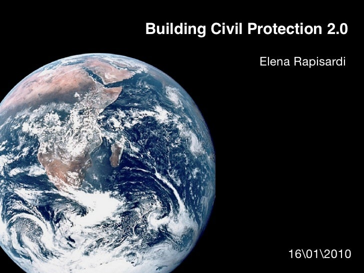 Building Civil Protection 2.0 [updated]
