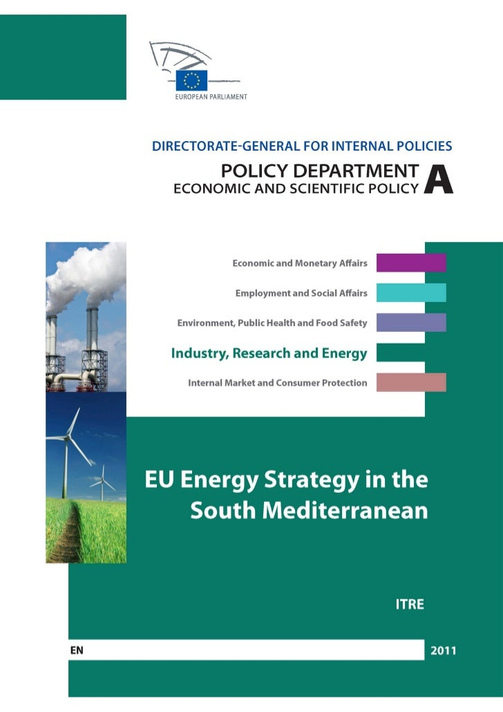 DIRECTORATE GENERAL FOR INTERNAL POLICIES POLICY DEPARTMENT A: ECONOMIC AND SCIENTIFIC POLICY               INDUSTRY, RESE...