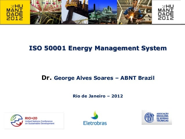 ISO 50001 Energy Management System - George Alves Soares