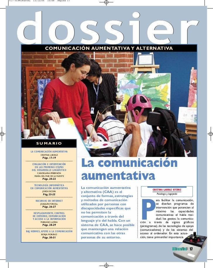 017-019MINUSVAL    13/12/06    15:48      Página 17    dossier          Todas las personas                              CO...