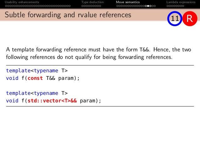Std vector move semantics