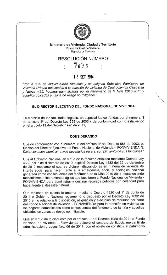 FONDO NACIONAL DE VIVIENDA APARTADÓ