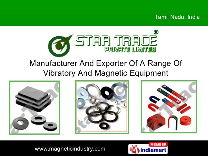 Manufacturer And Exporter Of A Range Of Vibratory And Magnetic Equipment