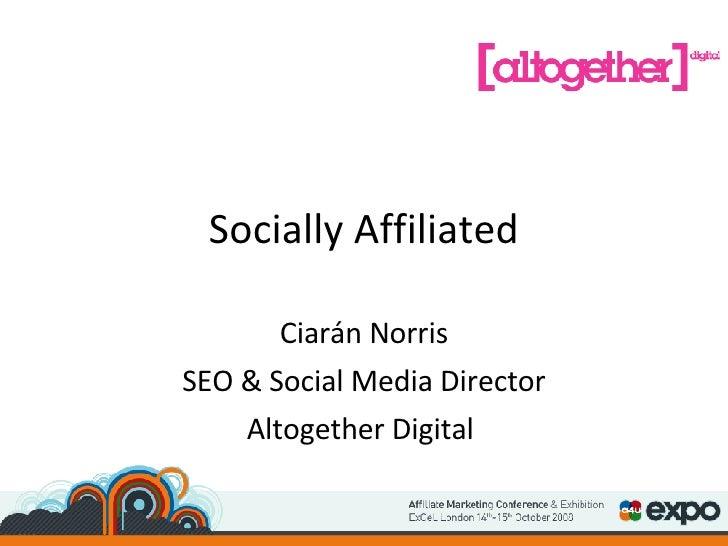 Roundup Social Media - Ciaran Norris - Altogether Digital