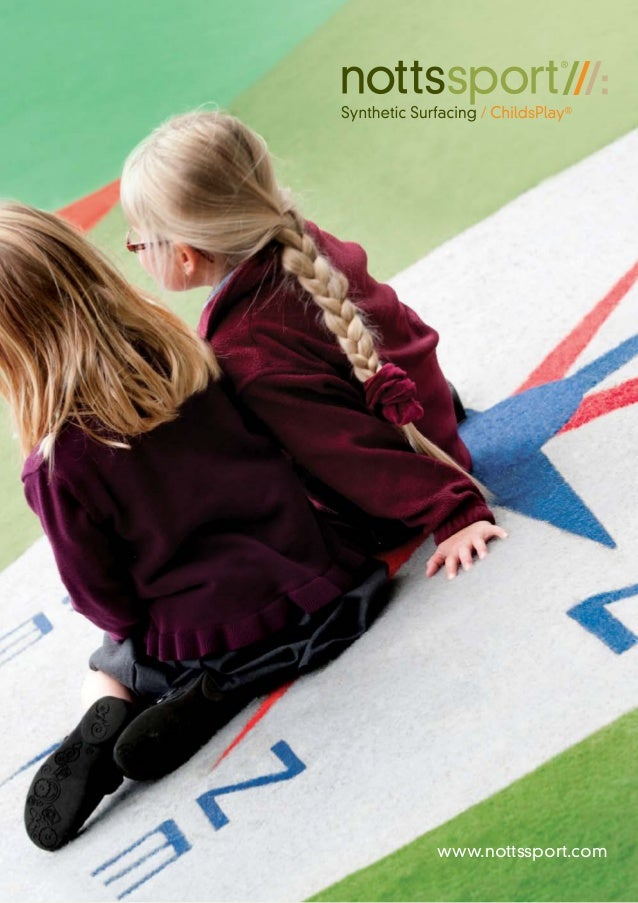 Notts Sport ChildsPlay Synthetic Surfacing Brochure
