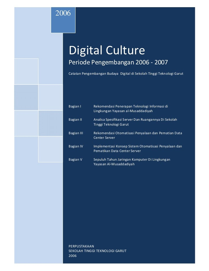 16406239 digital-culture-periode-pengembangan-2006-2007