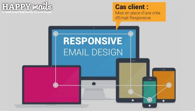 Cas client : Mise en place d'une créa d'Email Responsive RESPONSIVE EMAIL DESIGN
