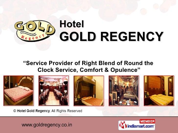 Restaurants & Bar Hotel Gold Regency New Delhi