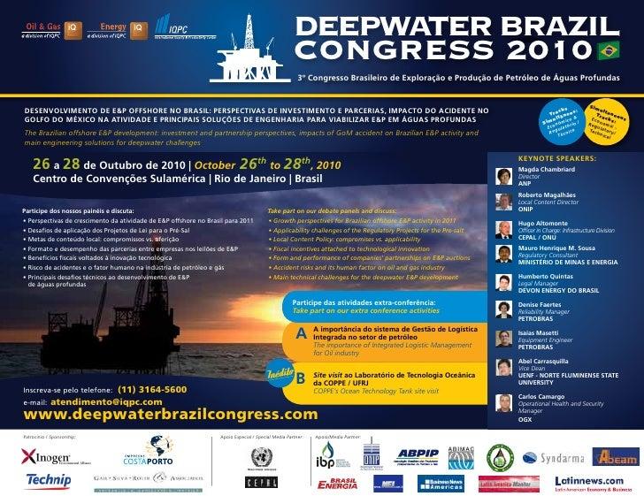 Deepwater Brazil Congress 2010