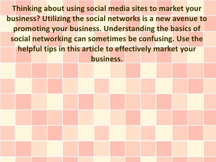 Social Media Marketing Confusing You? Help Is Here!