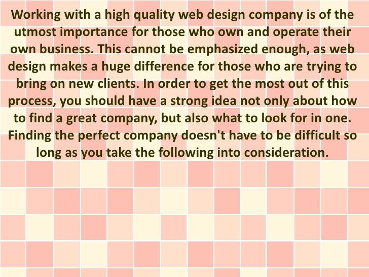 Finding a Great Web Design Company