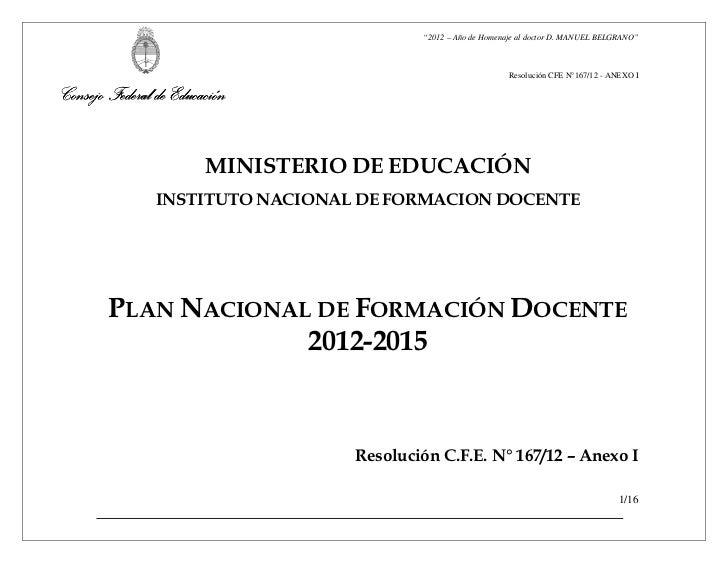 """""""2012 – Año de Homenaje al doctor D. MANUEL BELGRANO""""                                                               Resolu..."""