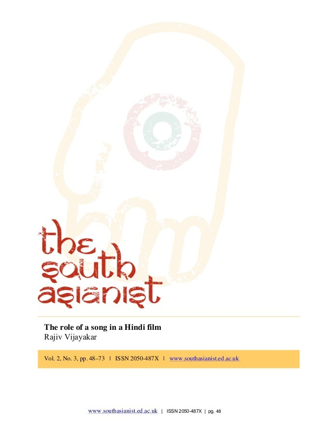 The South Asianist