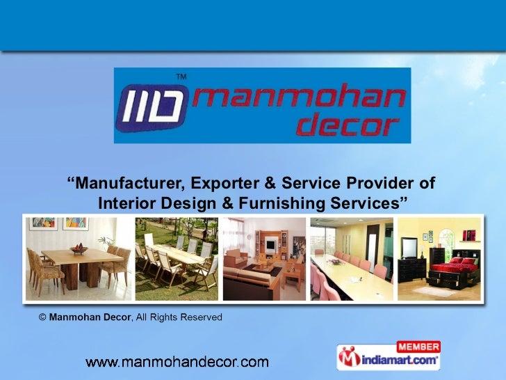 living room furniture by manmohan decor pune manufacturer exporter service provider of interior design furnishing services living room furniture pune