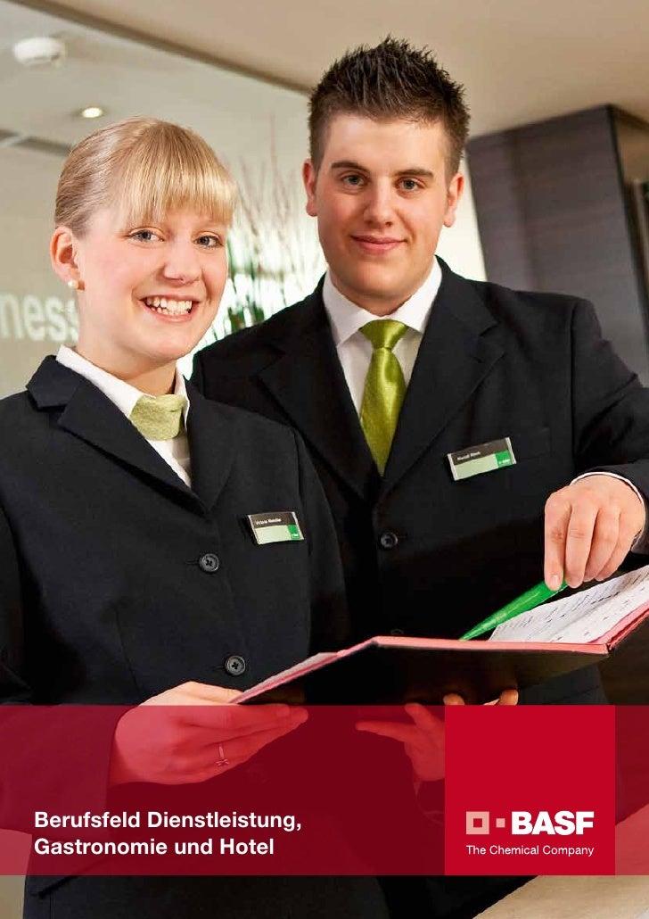 BASF - Berufsfeld Dienstleistung, Gastronomie und Hotel