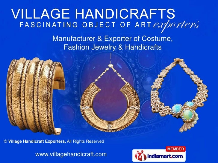 Manufacturer & Exporter of Costume,<br />Fashion Jewelry & Handicrafts<br />
