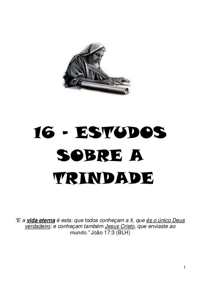 16 estudos sobre_trindade