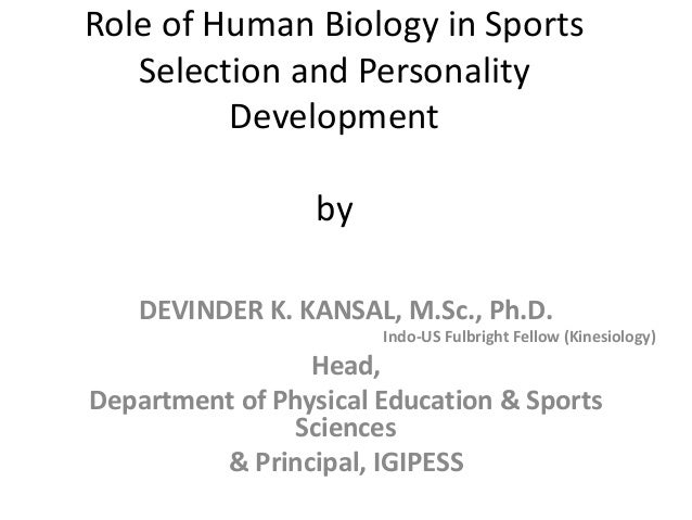essay on the role of sports in personality development S arunajatesan in the development stage children pose two major problems — related to eating and learning mere knowledge and intelligence without self-confidence make the child diffident the concept of child development is neither concise nor precise and lacks clarity the basic questions are what is a child.