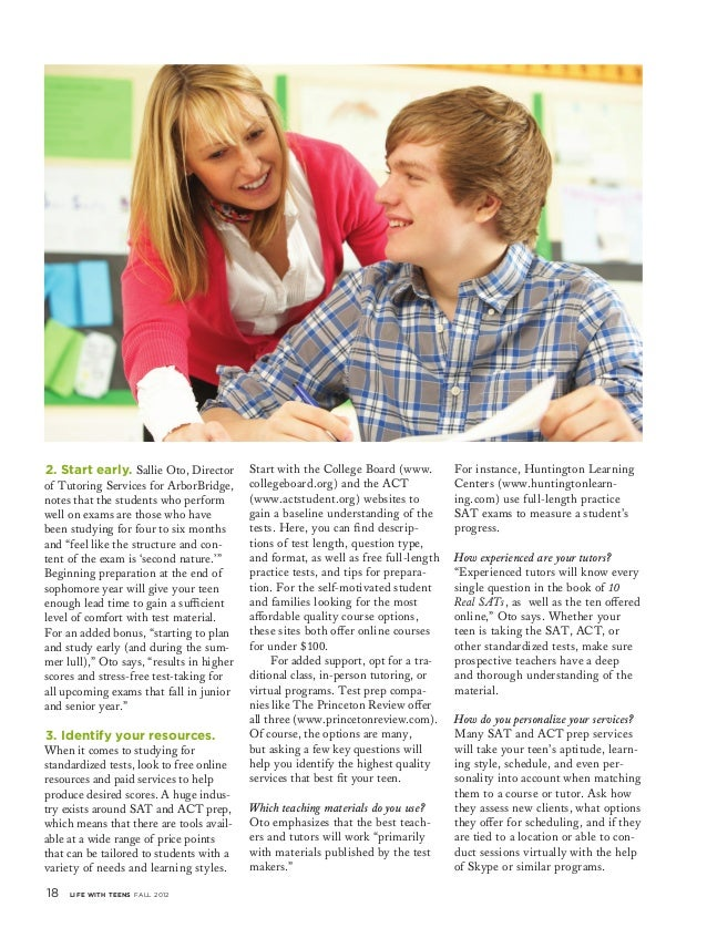 A Teen's Appeal to Parents.. Essay Help..?