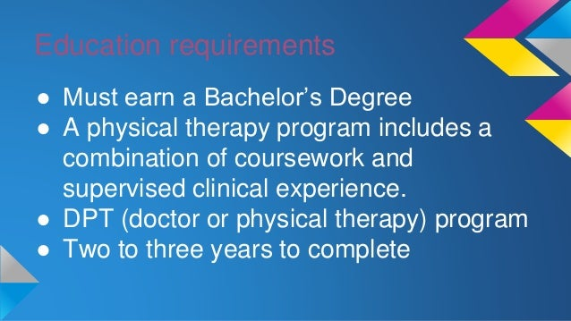 coursework degree physical therapy Physical therapists enjoy strong job prospects and growth potential learn about online physical therapy degree programs, related courses, job outlook and more.