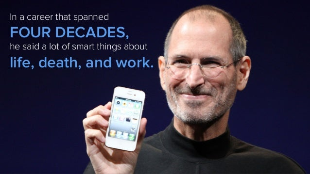 Inspirational Quotes From Steve Jobs for Career