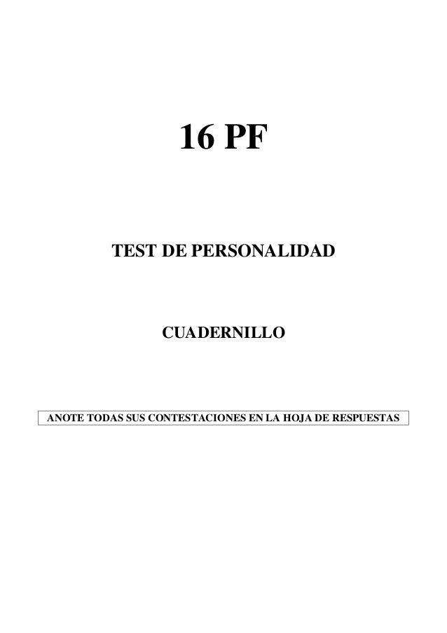 16 pf: