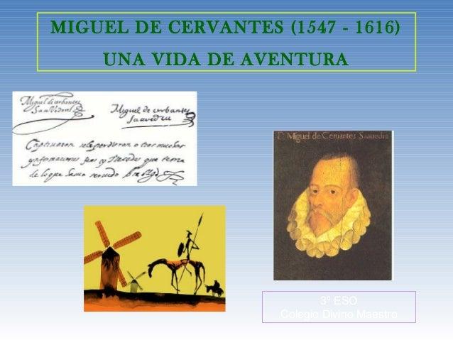 Quijote, renacimiento, Cervantes, 3eso
