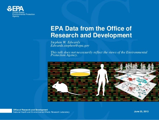 Office of Research and DevelopmentNational Health and Environmental Effects Research LaboratoryPhoto image area measures 2...