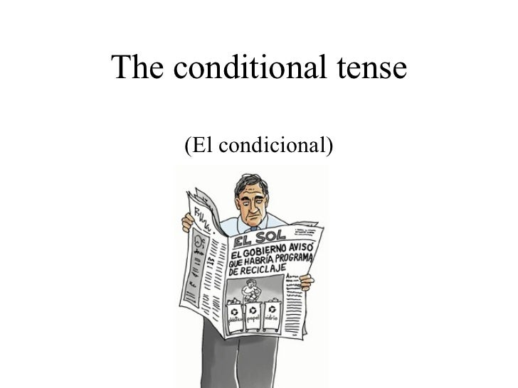 16 the conditional tense