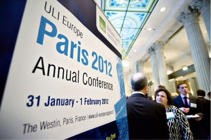 16th ULI Europe Annual Conference 2012