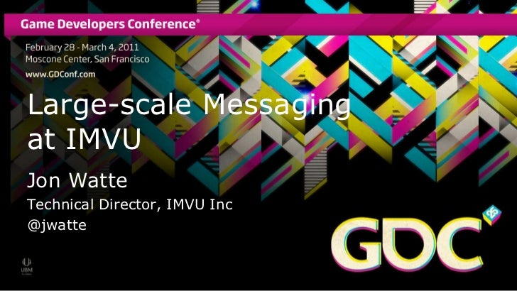 Message Queuing on a Large Scale: IMVUs stateful real-time message queue for chat and games
