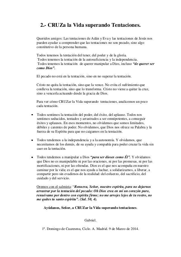 HOMILIA DEL DOMINGO 1º DE CUARESMA. CICLO A (2)