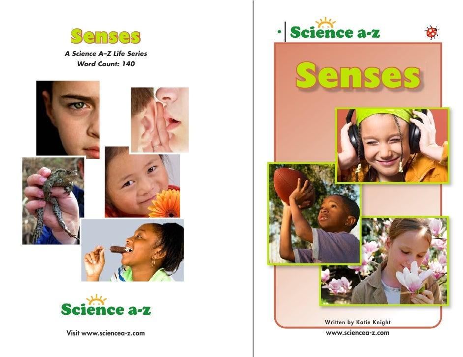 Senses A Science A–Z Life Series    Word Count: 140                               Senses                                  ...