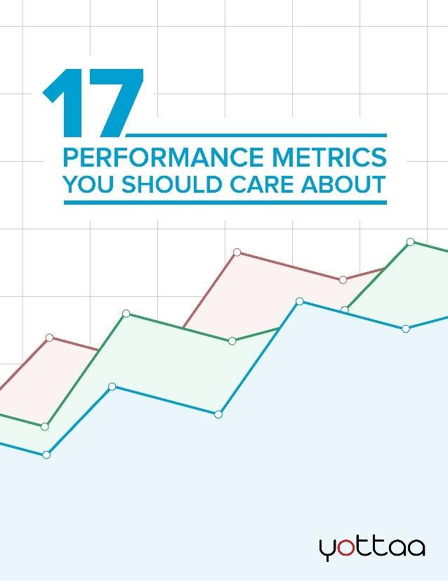 17 métricas para testes de performance