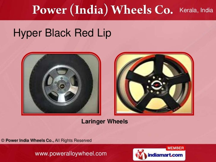 Wheel Power Wheels© Power India Wheels