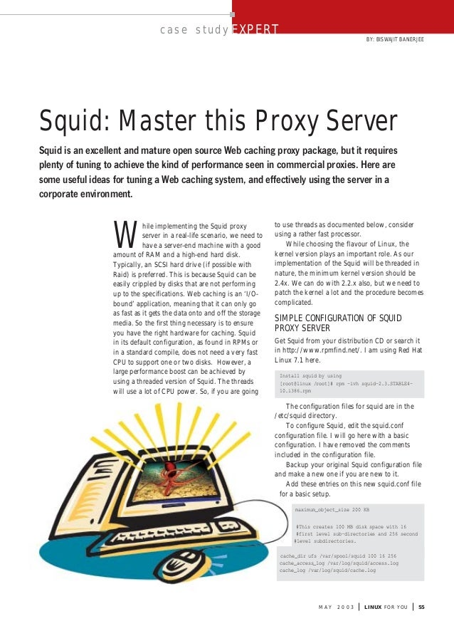 17) 11 (may, 2003)   squid master this proxy server