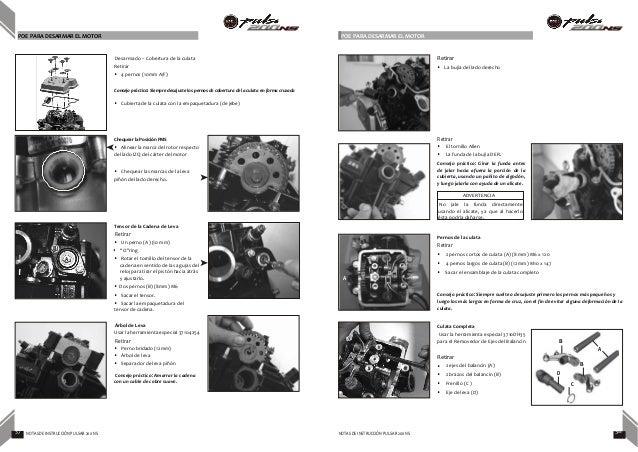 Pulsar 200 Manual de servicio