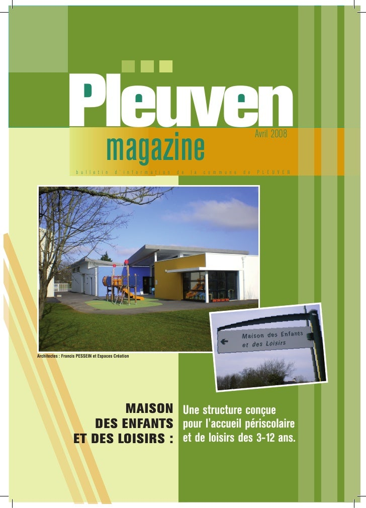 Pleuven                 magazine                                                                                   Avril 2...