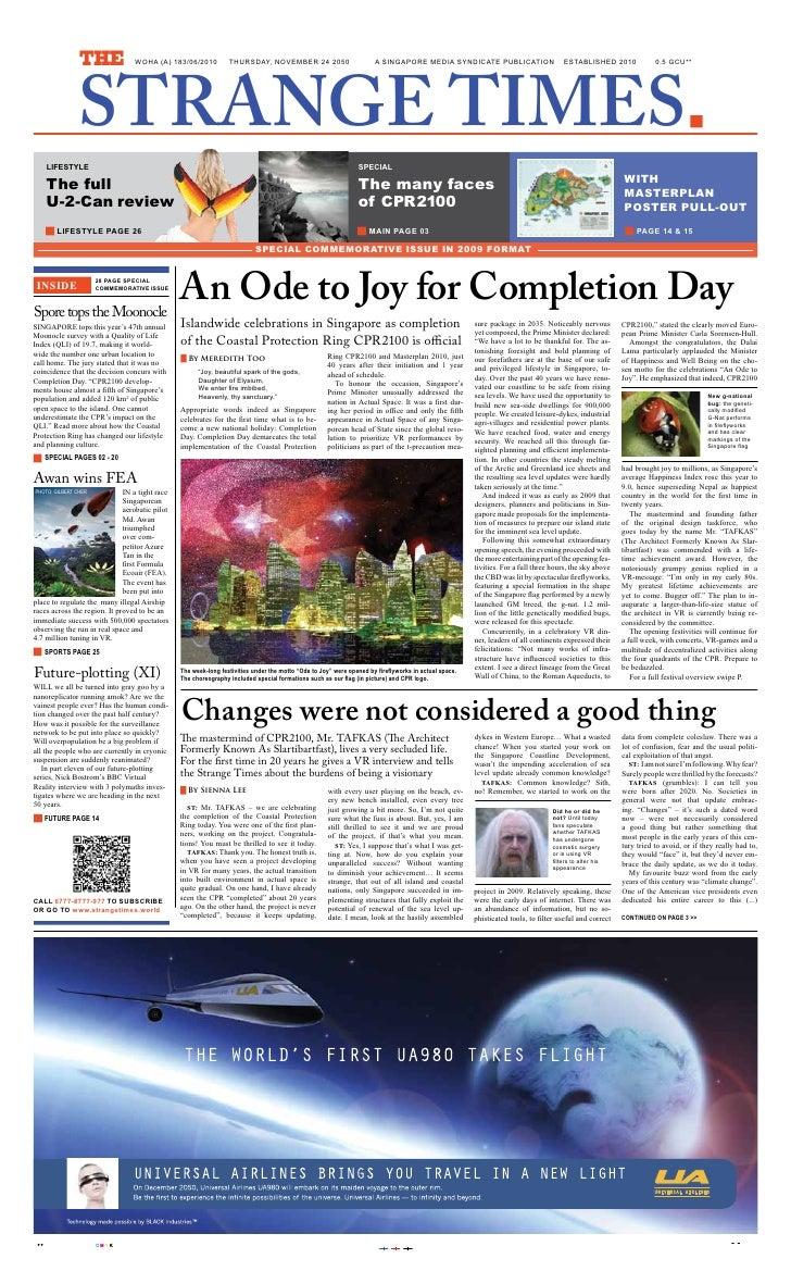 172 Strange Times 24 Nov2050