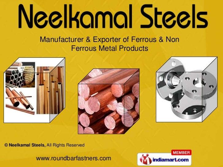 Stainless Steel Olets by Neelkamal Steels Mumbai