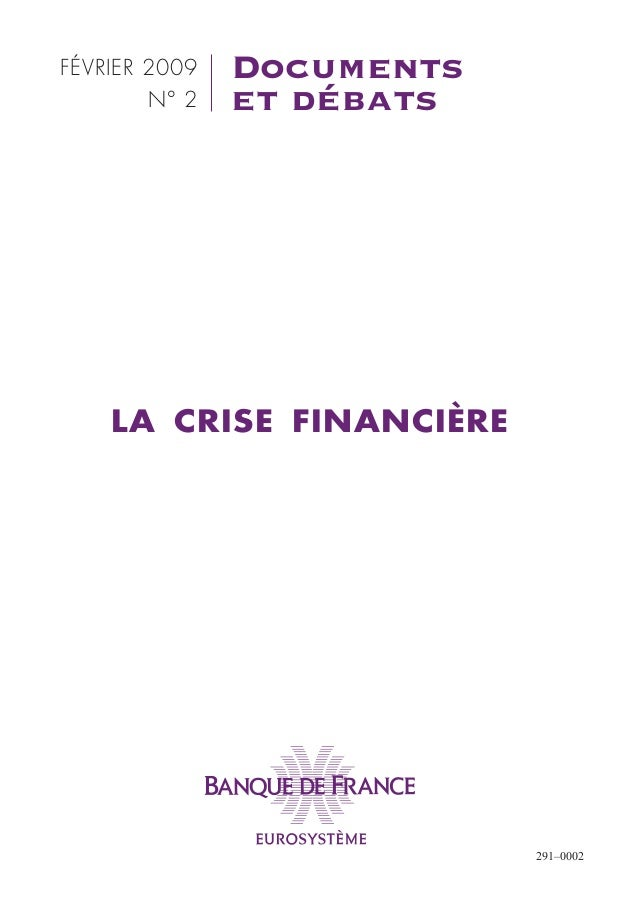 1743 la crise_financiere_documents_et_debats