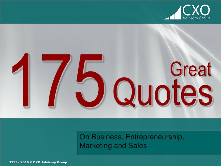 business sales quotes