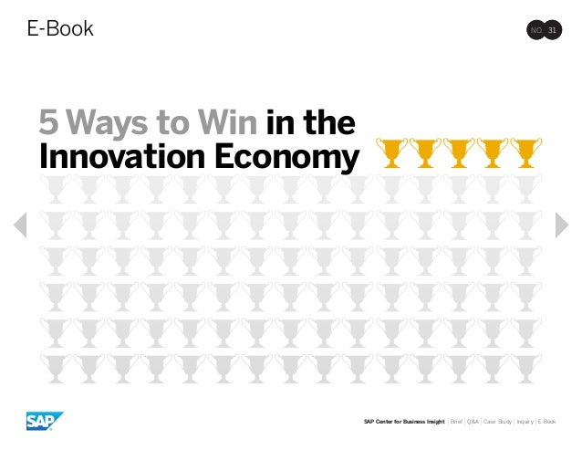 5 ways to win in the innovation economy