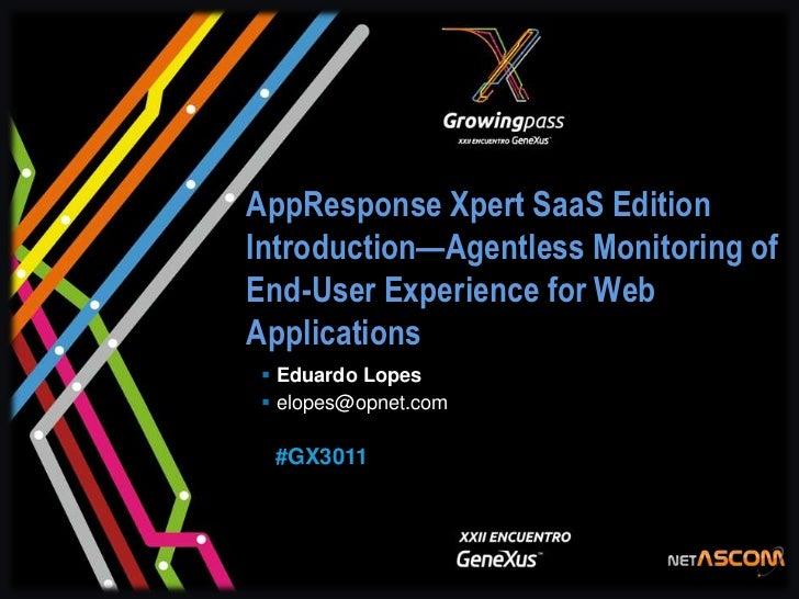 AppResponse Xpert SaaS Edition