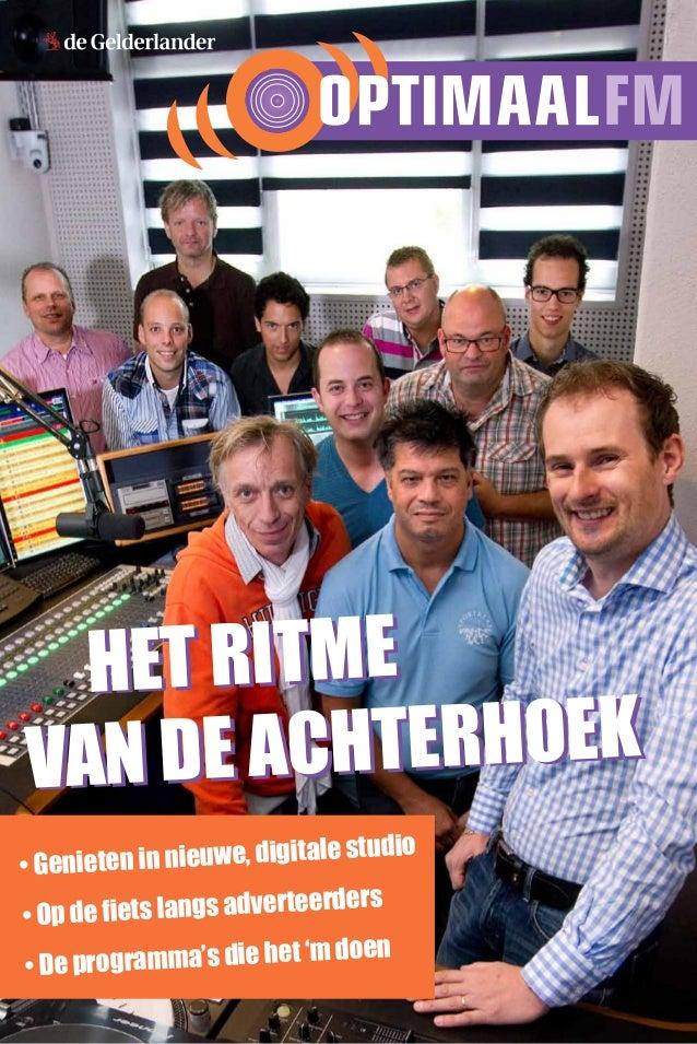 bijlage Optimaal FM krant sept 2012
