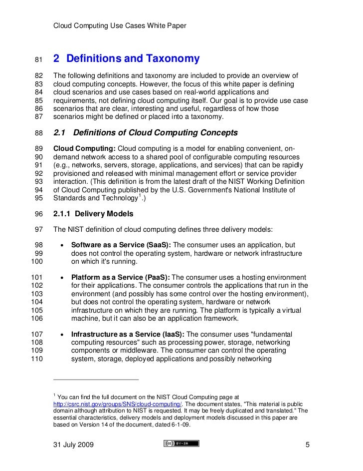 Cloud computing essays
