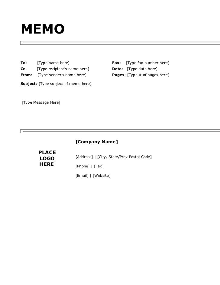 fax memo templates free   datariouruguay