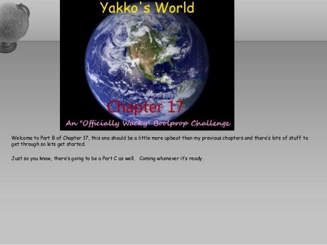 Yakko's World OWBC - Chapitre Dix-sept - Part B