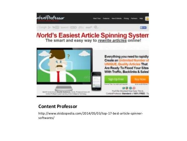 Artikel spinner